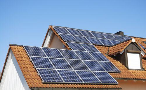 Schone energie door zonnepanelen