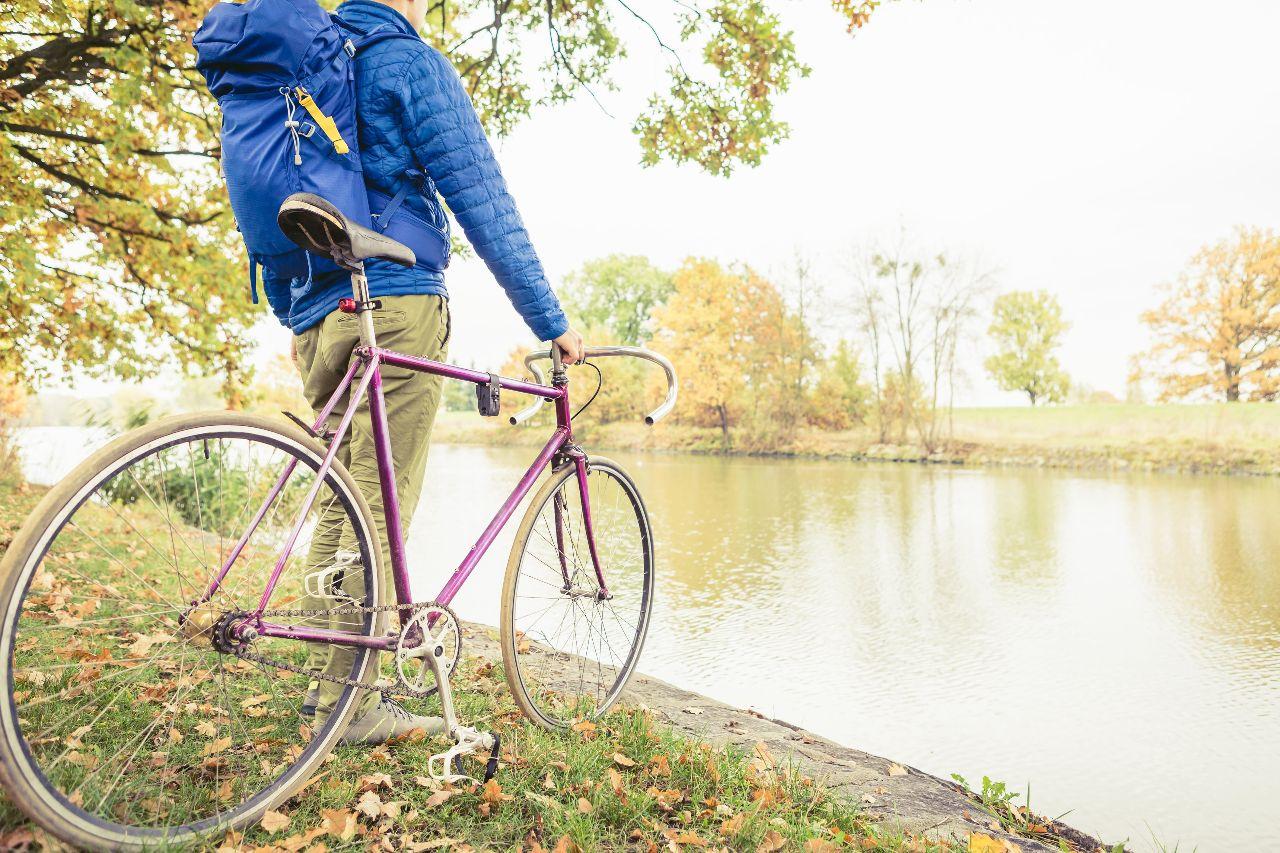 vaker met de fiets