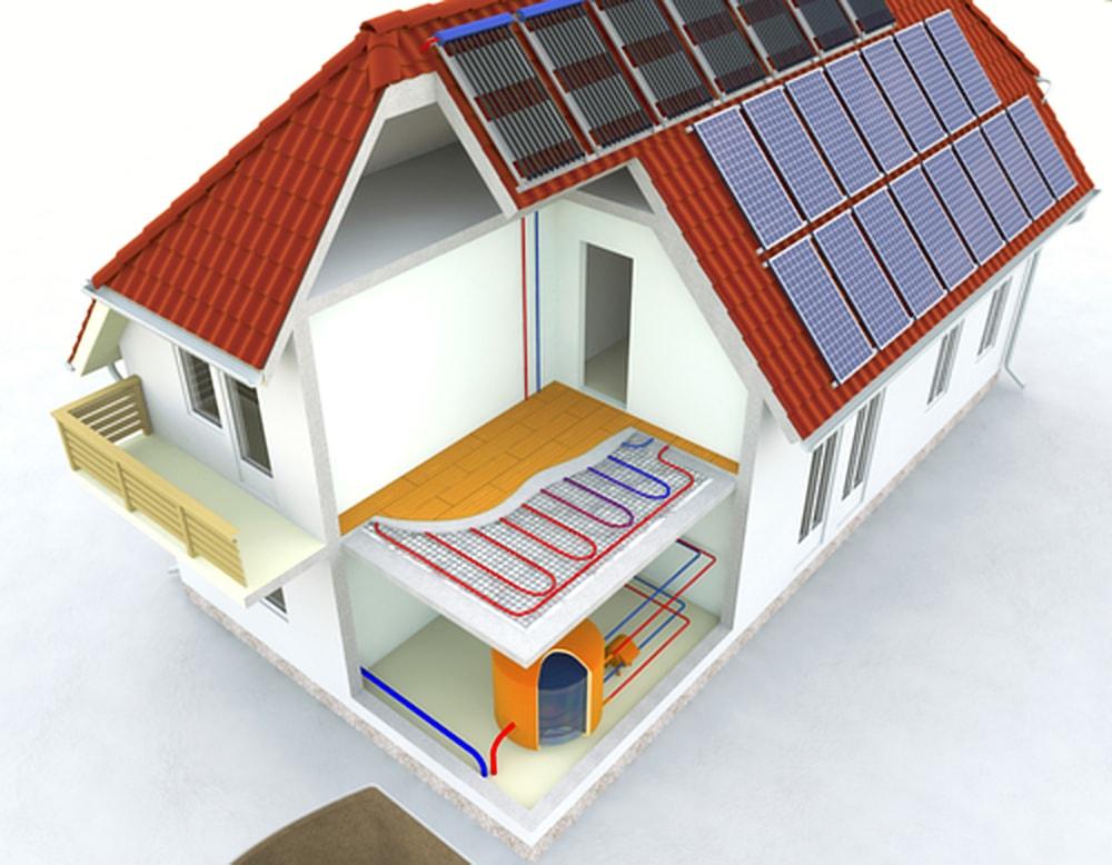 huis zonder gas warmtepomp