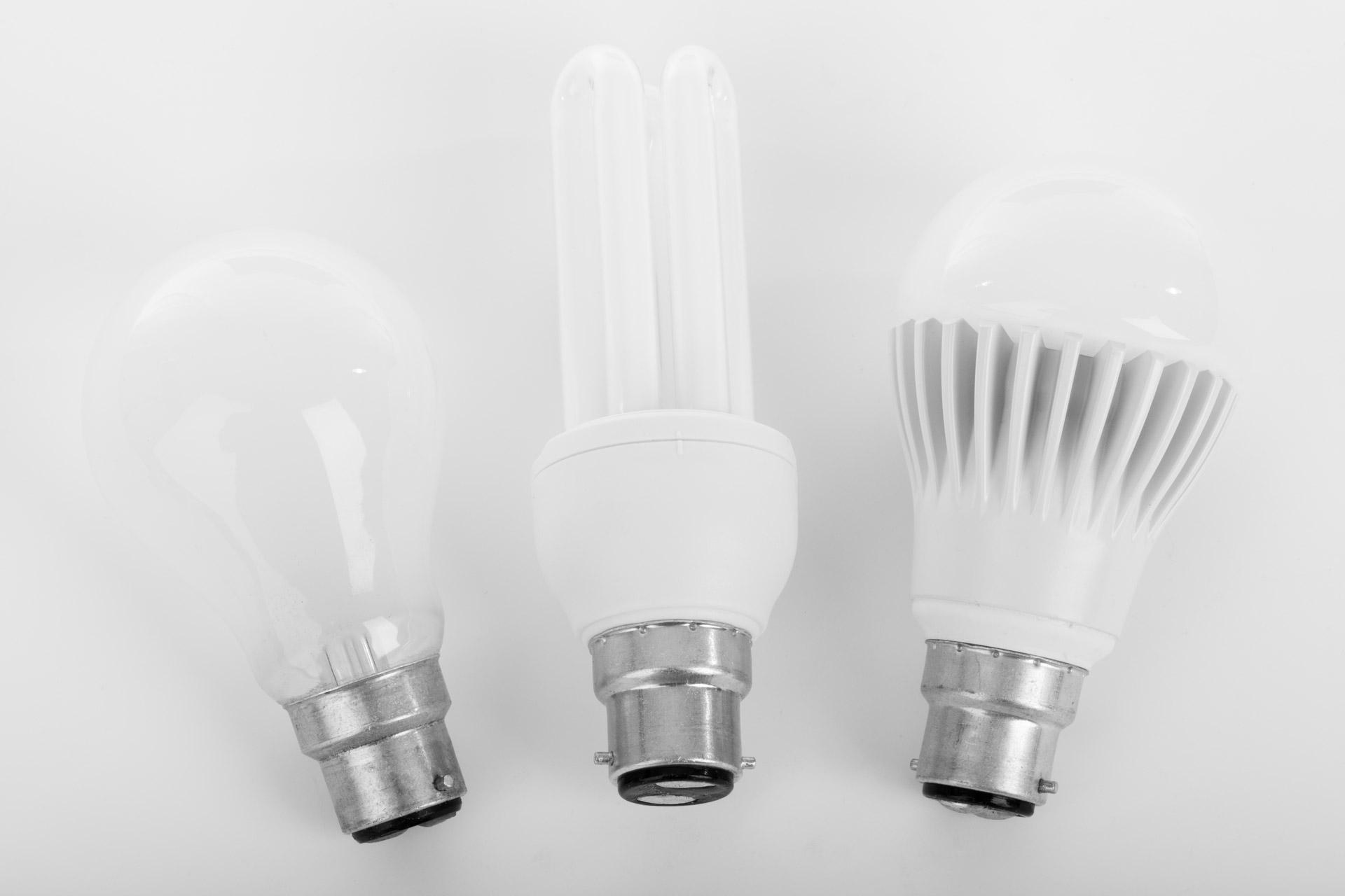 Gebruik minder energie met led lampen